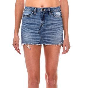 Blank NYC Unfaithful Denim Mini Skirt - size 27